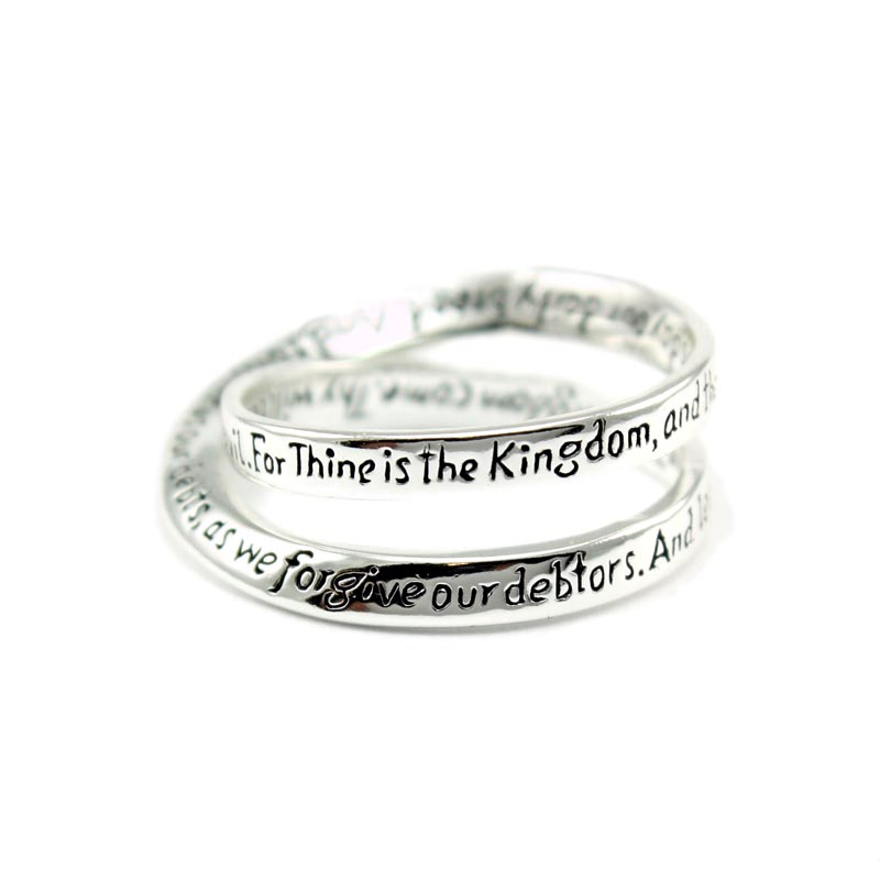 Lord's Prayer Ring - DSG-35-506LP