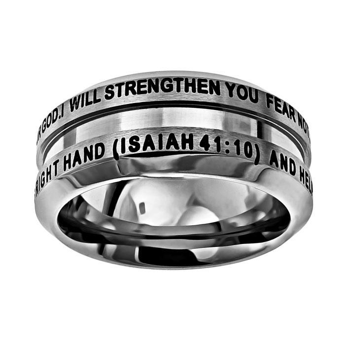 Fear Not Industrial Band Ring (#stind Fn)  Men's Rings. Classy Engagement Rings. Endless Love Rings. Duepunti Rings. Rosewood Rings. Seven Rings. Expensive Luxury Engagement Rings. Kay Jewelers Engagement Rings. Romance Rings