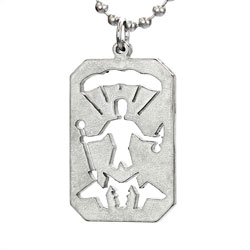St Michael Military Necklace