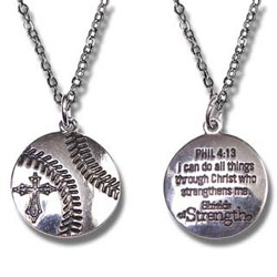 Womens Softball Pendant