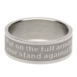 Ephesians 6:11 Ring Band