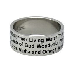 Names of Jesus Ring