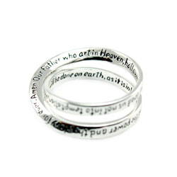 Lords Prayer Ring