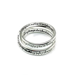 Serenity Prayer Ring