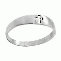 Cut-out Cross Ring