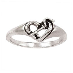 Key and Heart Ring