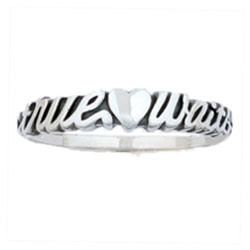 Sculptured True Love Waits Ring