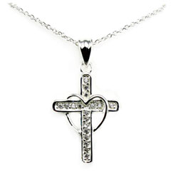 Cross My Heart Necklace