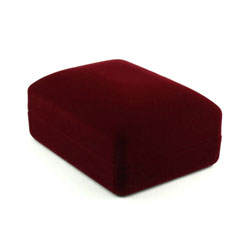 Burgundy Necklace Box