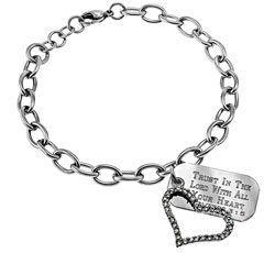 Joy Heart Chain Bracelet