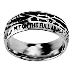 Armor of God Crown of Thorns Ring
