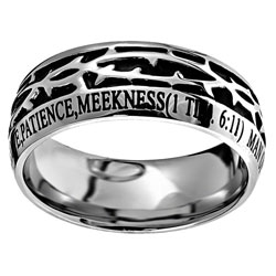 Man of God Crown of Thorns Ring