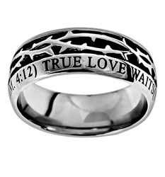 True Love Waits Crown of Thorns Ring