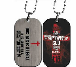Gospel Power Dog Tag