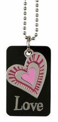 Love Charm Dog Tag