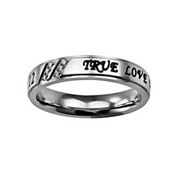 True Love Waits Girls Luxury Ring