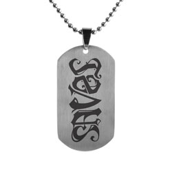 Jesus Saves Dog Tag
