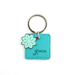 Blue Grace Keyring