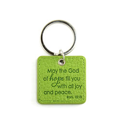 Green Hope Keyring