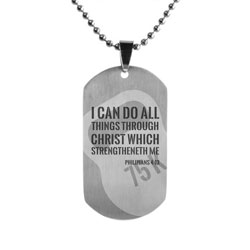 Weight Lifting Dog Tag