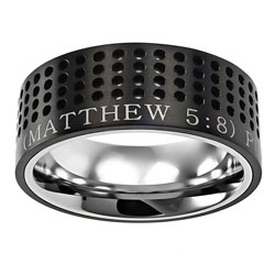 Purity Black Sport Ring